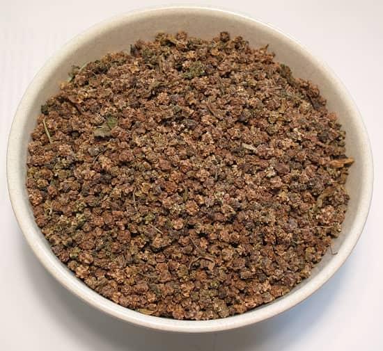 Семена, обработанные минеральным раствором