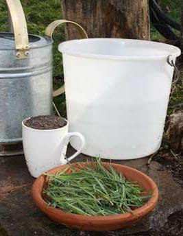 Приготовление жидкого удобрения