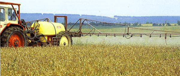 Опрыскивание зерновых культур