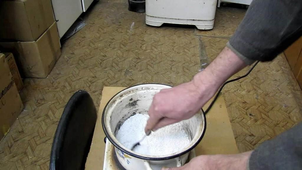 Приготовление жидкой подпитки для растений