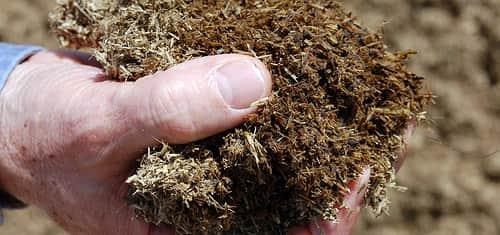 Сухая органическая подкормка для почвы