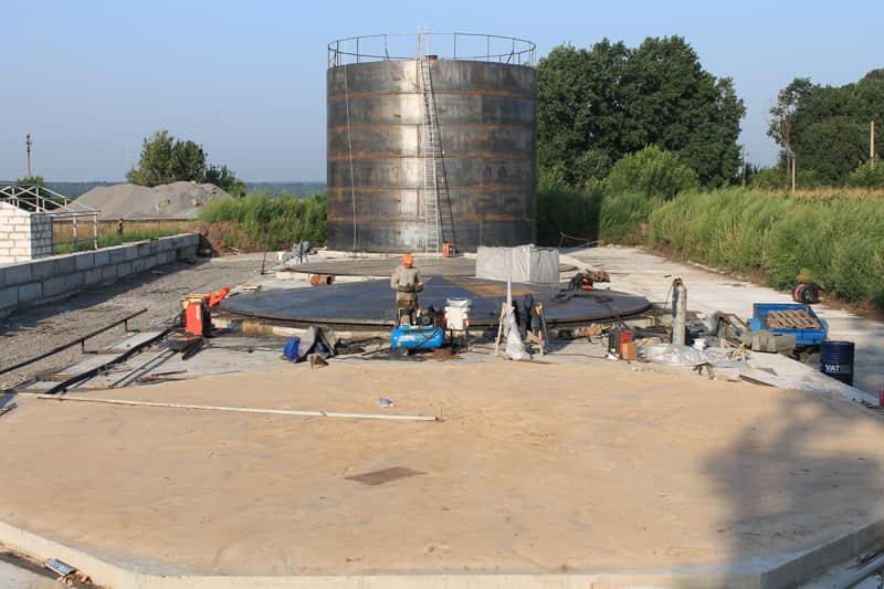 Хранилище для жидких минеральных удобрений